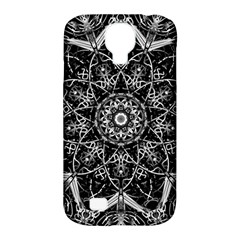 Mandala Psychedelic Neon Samsung Galaxy S4 Classic Hardshell Case (pc+silicone)