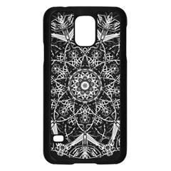 Mandala Psychedelic Neon Samsung Galaxy S5 Case (black)