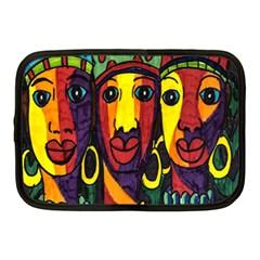 Ethnic Bold Bright Artistic Paper Netbook Case (medium)
