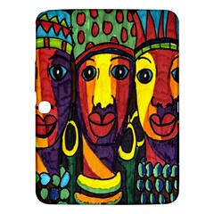 Ethnic Bold Bright Artistic Paper Samsung Galaxy Tab 3 (10 1 ) P5200 Hardshell Case
