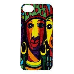Ethnic Bold Bright Artistic Paper Apple Iphone 5s/ Se Hardshell Case