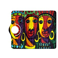 Ethnic Bold Bright Artistic Paper Kindle Fire Hdx 8 9  Flip 360 Case