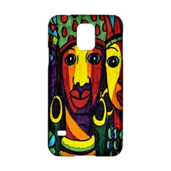 Ethnic Bold Bright Artistic Paper Samsung Galaxy S5 Hardshell Case