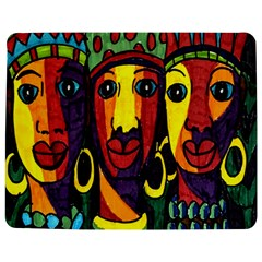 Ethnic Bold Bright Artistic Paper Jigsaw Puzzle Photo Stand (rectangular)