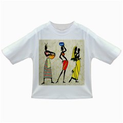 Woman Ethic African People Collage Infant/toddler T Shirts