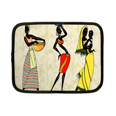 Woman Ethic African People Collage Netbook Case (small)
