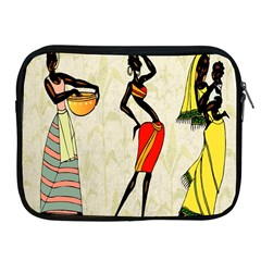 Woman Ethic African People Collage Apple Ipad 2/3/4 Zipper Cases