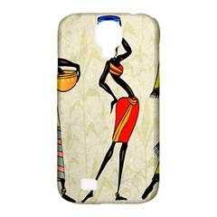 Woman Ethic African People Collage Samsung Galaxy S4 Classic Hardshell Case (pc+silicone)