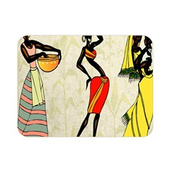 Woman Ethic African People Collage Double Sided Flano Blanket (mini)
