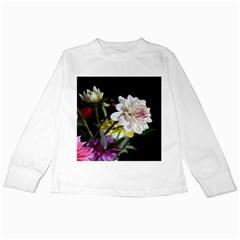 Dahlias Dahlia Dahlia Garden Kids Long Sleeve T Shirts