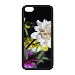 Dahlias Dahlia Dahlia Garden Apple Iphone 5c Seamless Case (black)