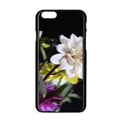 Dahlias Dahlia Dahlia Garden Apple Iphone 6/6s Black Enamel Case