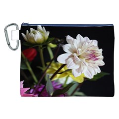 Dahlias Dahlia Dahlia Garden Canvas Cosmetic Bag (xxl)