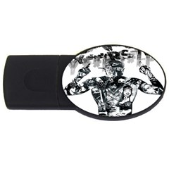 Black Music Urban Swag Hip Hop Usb Flash Drive Oval (2 Gb)