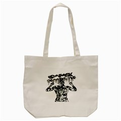 Black Music Urban Swag Hip Hop Tote Bag (cream)