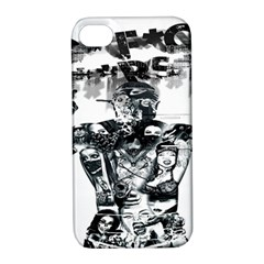 Black Music Urban Swag Hip Hop Apple Iphone 4/4s Hardshell Case With Stand