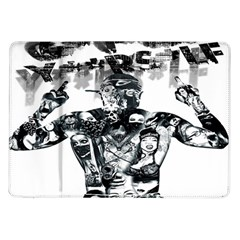 Black Music Urban Swag Hip Hop Samsung Galaxy Tab 10 1  P7500 Flip Case
