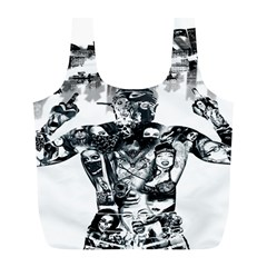 Black Music Urban Swag Hip Hop Full Print Recycle Bags (l)