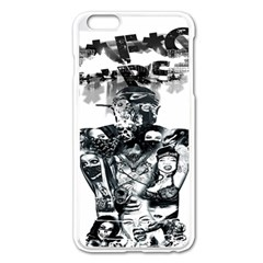 Black Music Urban Swag Hip Hop Apple Iphone 6 Plus/6s Plus Enamel White Case