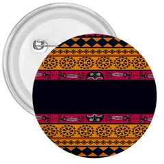 Pattern Ornaments Africa Safari 3  Buttons