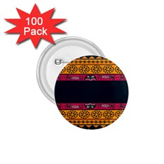 Pattern Ornaments Africa Safari 1 75  Buttons (100 Pack)