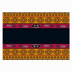 Pattern Ornaments Africa Safari Large Glasses Cloth