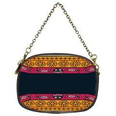 Pattern Ornaments Africa Safari Chain Purses (two Sides)