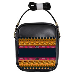 Pattern Ornaments Africa Safari Girls Sling Bags