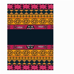 Pattern Ornaments Africa Safari Small Garden Flag (two Sides)