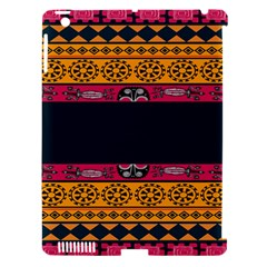 Pattern Ornaments Africa Safari Apple Ipad 3/4 Hardshell Case (compatible With Smart Cover)