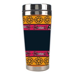 Pattern Ornaments Africa Safari Stainless Steel Travel Tumblers
