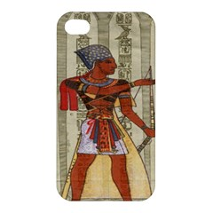 Egyptian Design Man Royal Apple Iphone 4/4s Premium Hardshell Case