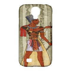 Egyptian Design Man Royal Samsung Galaxy S4 Classic Hardshell Case (pc+silicone)