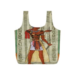 Egyptian Design Man Royal Full Print Recycle Bags (s)