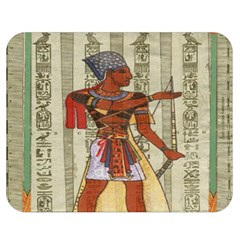 Egyptian Design Man Royal Double Sided Flano Blanket (medium)