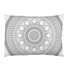 Mandala Ethnic Pattern Pillow Case (two Sides)