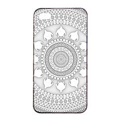 Mandala Ethnic Pattern Apple Iphone 4/4s Seamless Case (black)