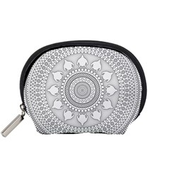 Mandala Ethnic Pattern Accessory Pouches (small)
