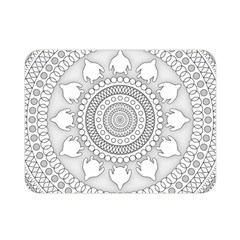 Mandala Ethnic Pattern Double Sided Flano Blanket (mini)