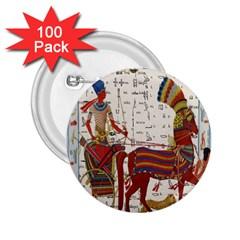 Egyptian Tutunkhamun Pharaoh Design 2 25  Buttons (100 Pack)