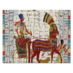 Egyptian Tutunkhamun Pharaoh Design Rectangular Jigsaw Puzzl