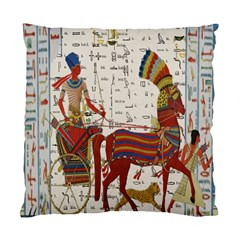 Egyptian Tutunkhamun Pharaoh Design Standard Cushion Case (two Sides)