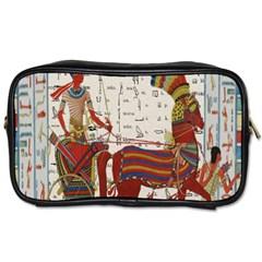 Egyptian Tutunkhamun Pharaoh Design Toiletries Bags 2 Side