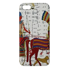 Egyptian Tutunkhamun Pharaoh Design Apple Iphone 5 Premium Hardshell Case