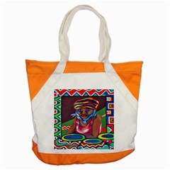 Ethnic Africa Art Work Drawing Accent Tote Bag