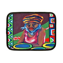Ethnic Africa Art Work Drawing Netbook Case (small)