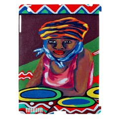 Ethnic Africa Art Work Drawing Apple Ipad 3/4 Hardshell Case (compatible With Smart Cover)
