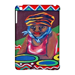 Ethnic Africa Art Work Drawing Apple Ipad Mini Hardshell Case (compatible With Smart Cover)