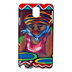 Ethnic Africa Art Work Drawing Samsung Galaxy Note 3 N9005 Hardshell Case