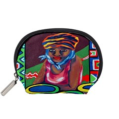 Ethnic Africa Art Work Drawing Accessory Pouches (small)